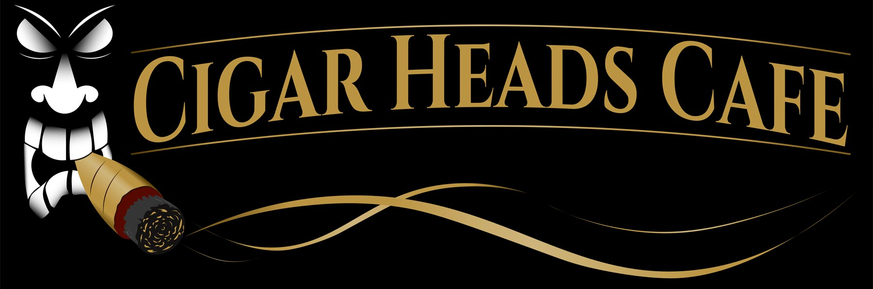 Cigar Heads Cafe Logo
